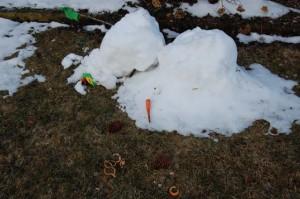 snowman kerplop!
