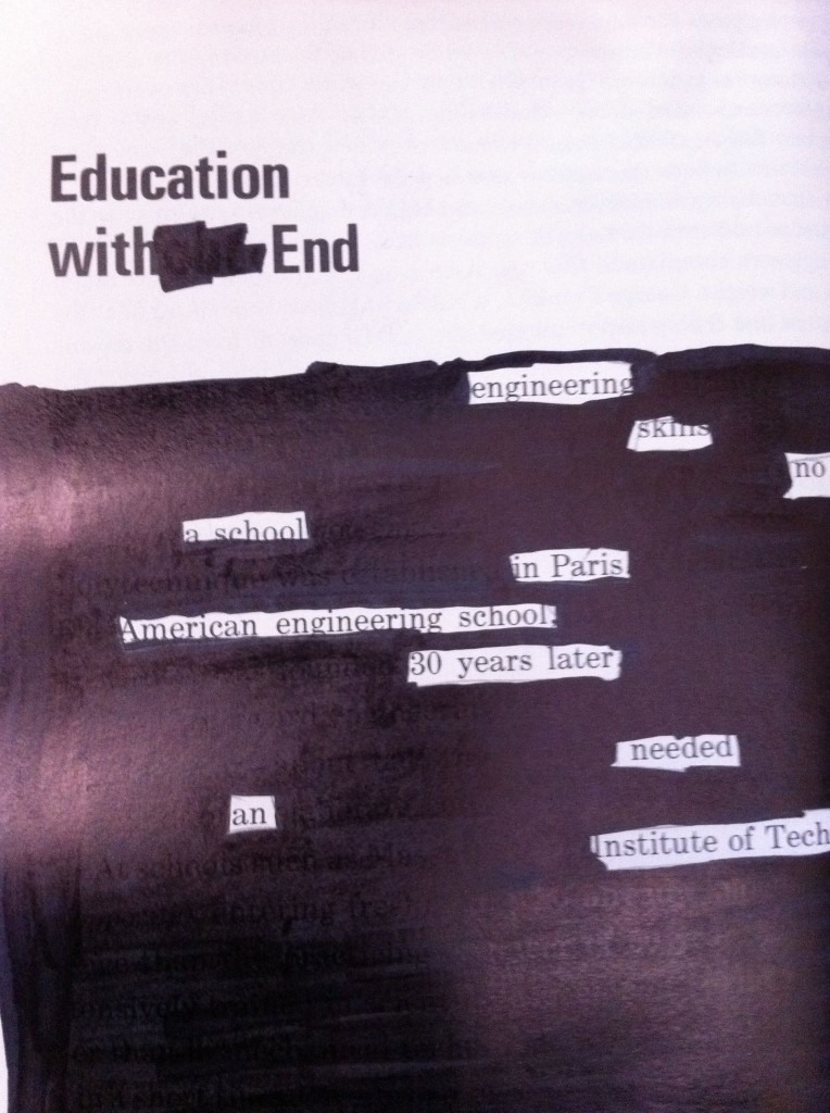 Education with End